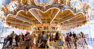 Amusement Park Carousel Rides