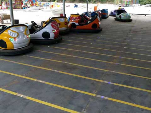 Bumper Cars Ground Grid - Powerlion