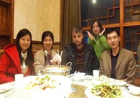 Dinner With Tajikistan Customer
