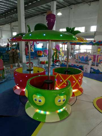 Fruit Cup Rotary Rides In Beston Amusement Company