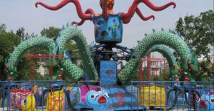 Large Octopus Amusement Park Ride