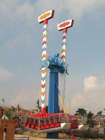 PLKR-16B2 Kamikaze Ride For Sale - Powerlion Amusement Company