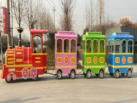 PLTT-3B Trackless Train Rides - Powerlion Amusement Rides Supplier