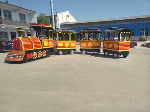 PLTT-3D Amusement Park Trackless Trains - Powerlion