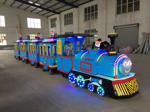 PLTT-4C Trackless Train Rides - Powerlion Factory