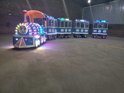 PLTT-4H Trackless Train For Sale - Powerlion
