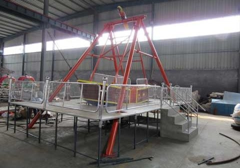 Pirate Ship Rides Manufactured In Powerlion Factory