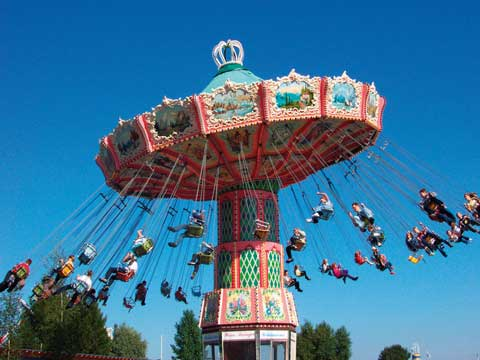 Popular Amusement Park Rides - Swing For Sale