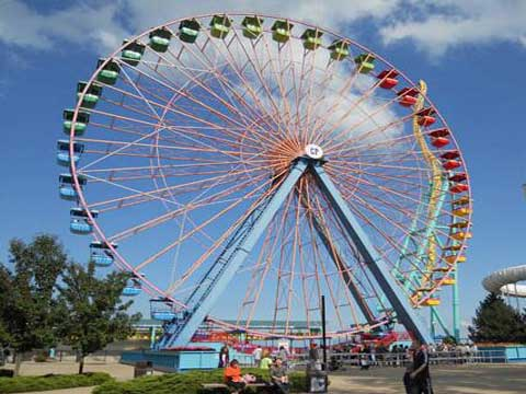 Popular Ferris Wheel Amusement Park Ride