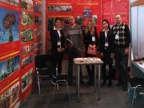 Beston Amusement Company Exhibition Trade Show