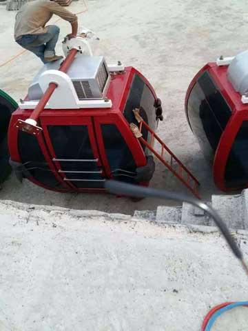 Beston Amusement Rides Ferris Wheel Installation