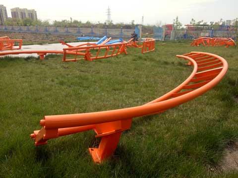 Beston Amusement Roller Coaster Construction