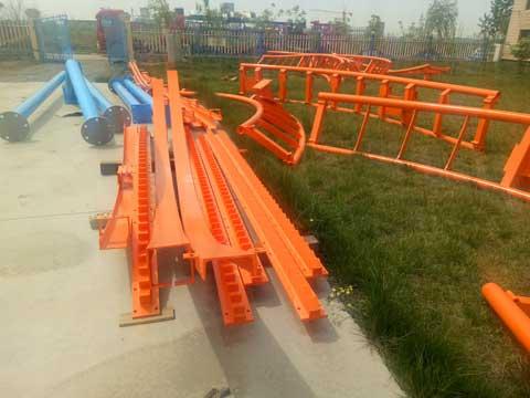 Beston Amusement Roller Coaster Rides Installation