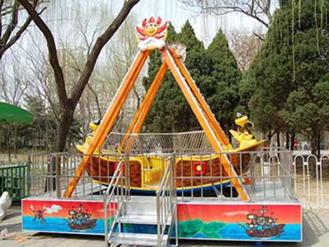 Small Amusement Park Pirate Ship Rides