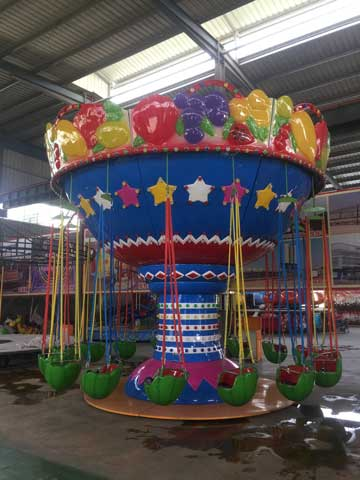 Swing Ride In Beston Amusement Rides Factory