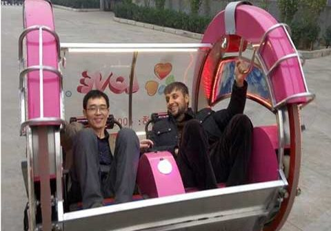 Tajikistan Customer Playing Powerlion Le Bar Car Ride