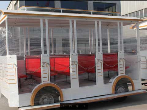 Trackless Train Carriage - Powerlion Amusement Rides Manufacturer