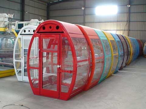 Unique Gondolas Design In Various Colors - Powerlion Amusement Company