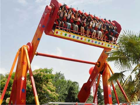 PLTS20-A Top Spin Ride For Sale - Powerlion Amusement Company