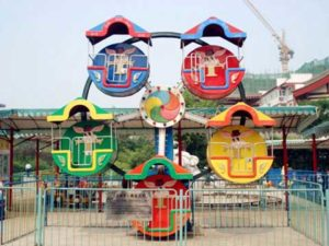 PLMFW-5A Low Price Amusement Mini Ferris Wheel - Powerlion Supplier