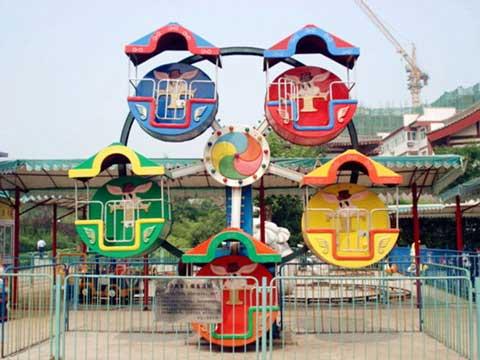 PLMFW-5A Low Price Amusement Mini Ferris Wheel - Powerlion Supplier