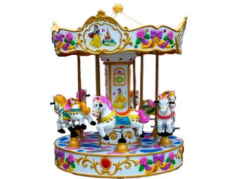 PLMC-6A Mini Carousel Ride For Sale - Powerlion