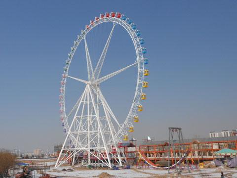 PLFW-B 88m Ferris Wheel Carnival Ride - Powerlion Factory