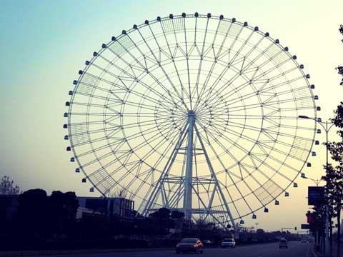PLFW-C Big 88m Ferris Wheel Ride - Powerlion Company