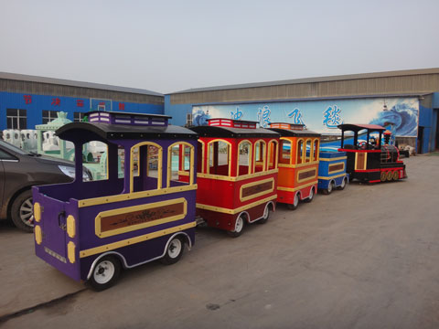 PLPT-4A Amusement Park Trains For Sale In Powerlion