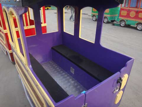 Trackless Train Cars Cabin & Seat - Powerlion