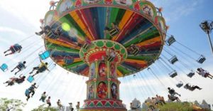 Theme Park Swing Ride For Sale In Powerlion Supplier
