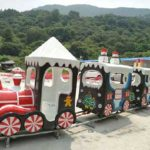Christmas Themed Amusement Train Rides For Sale