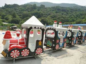Christmas Themed Amusement Train Rides For Sale Cheap From Powerlion