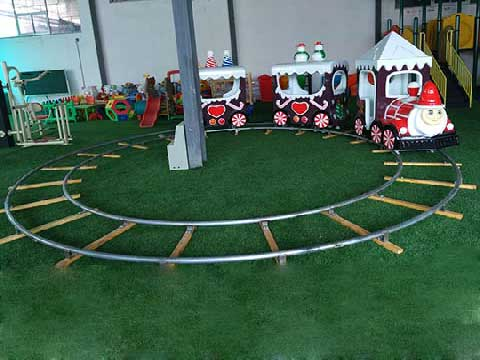Powerlion Christmas Themed Amusement Train Rides For Sale Cheap