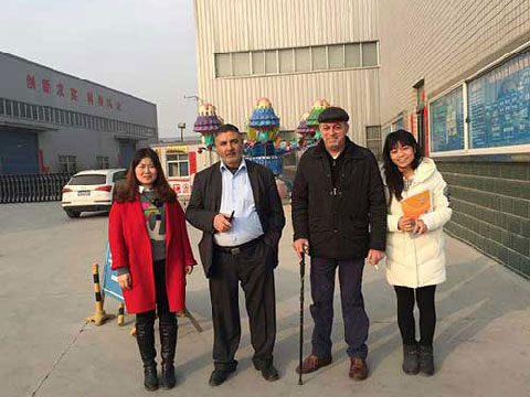 Pakistan Customers Visiting Powerlion Factory