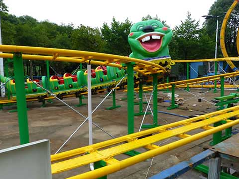 Wacky Worm Family Roller Coaster Amusement Ride In Beston