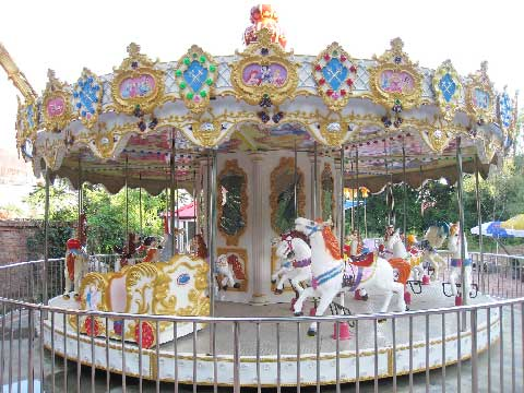 24 Seats Carousel Rides For Sale From Beston