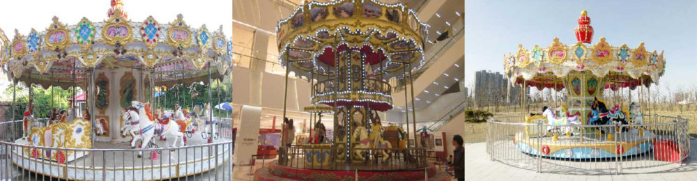 Amusement Park Carousel For Sale Cheap From Beston Factory