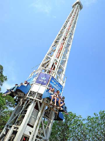 Amusement Park Drop Tower Ride For Sale - Beston