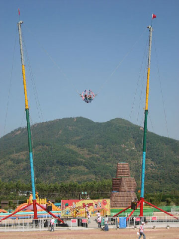 Amusement Park Human Slingshot Rides - Beston Factory