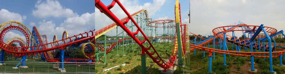 Amusement Park Roller Coasters For Sale From Beston