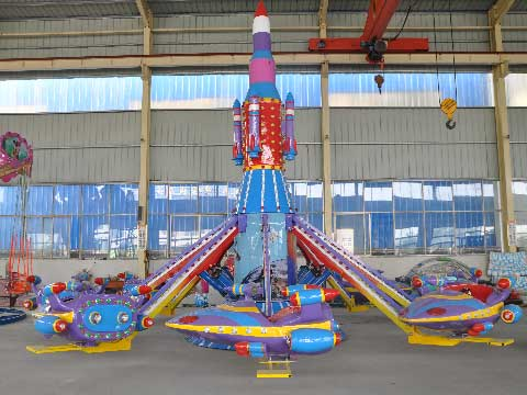 Amusement Park Self Control Airplane Ride For Sale