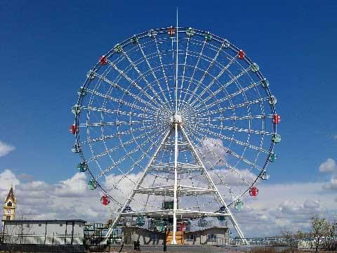 49m Ferris Wheel Rides For Sale From Beston