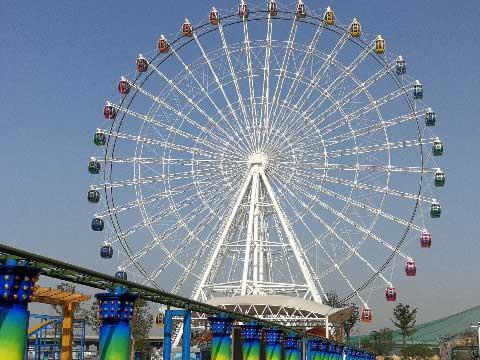 65m Amusement Rides Ferris Wheel For Sale In Beston