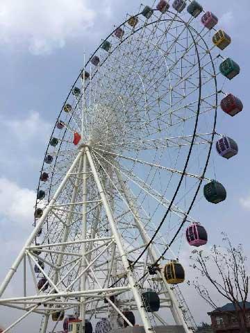 65m Amusement Rides Ferris Wheel For Sale