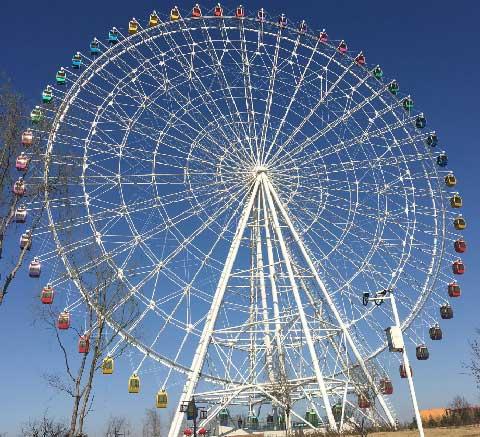 88m Carnival Ferris Wheel For Sale From Beston Factory