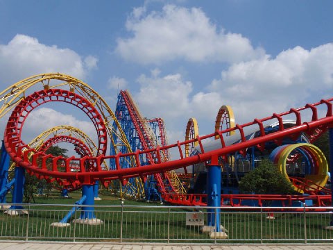 Four-loop Roller Coasters For Sale - Beston Rides