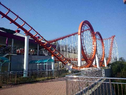 Four-loop Roller Coasters For Sale In Beston Company