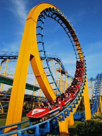 Three-loop Roller Coasters For Sale - Beston Rides