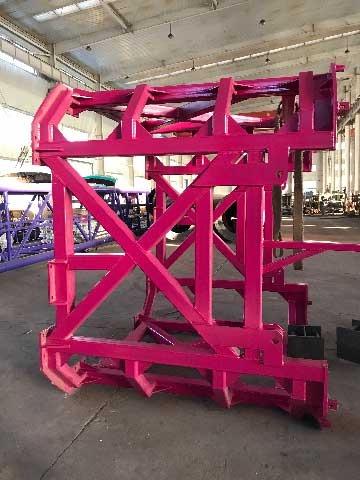Drop Tower Device Strcture In Beston Factory
